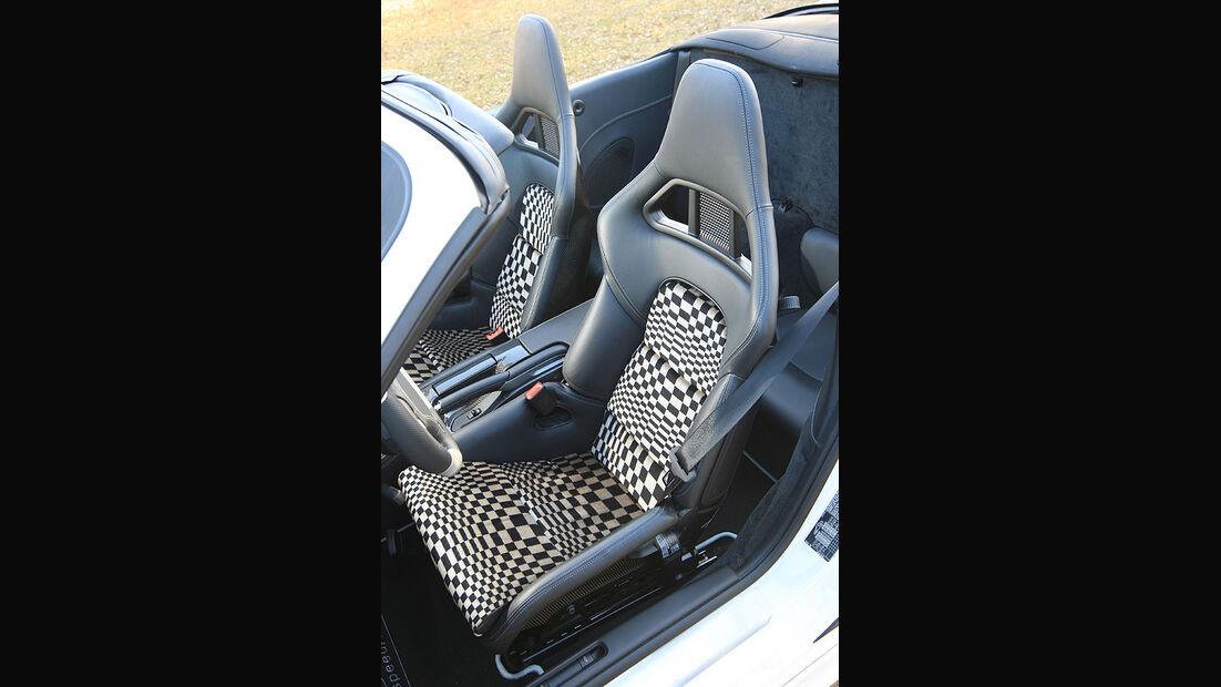 Porsche 911 Turbo Speedart Fahrersitz