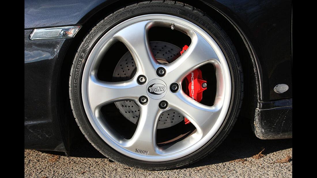 Porsche 911 Turbo Techart Felge