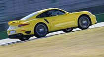 Porsche 911 Turbo, Vergleichstest, spa 04/2014, Vorschau