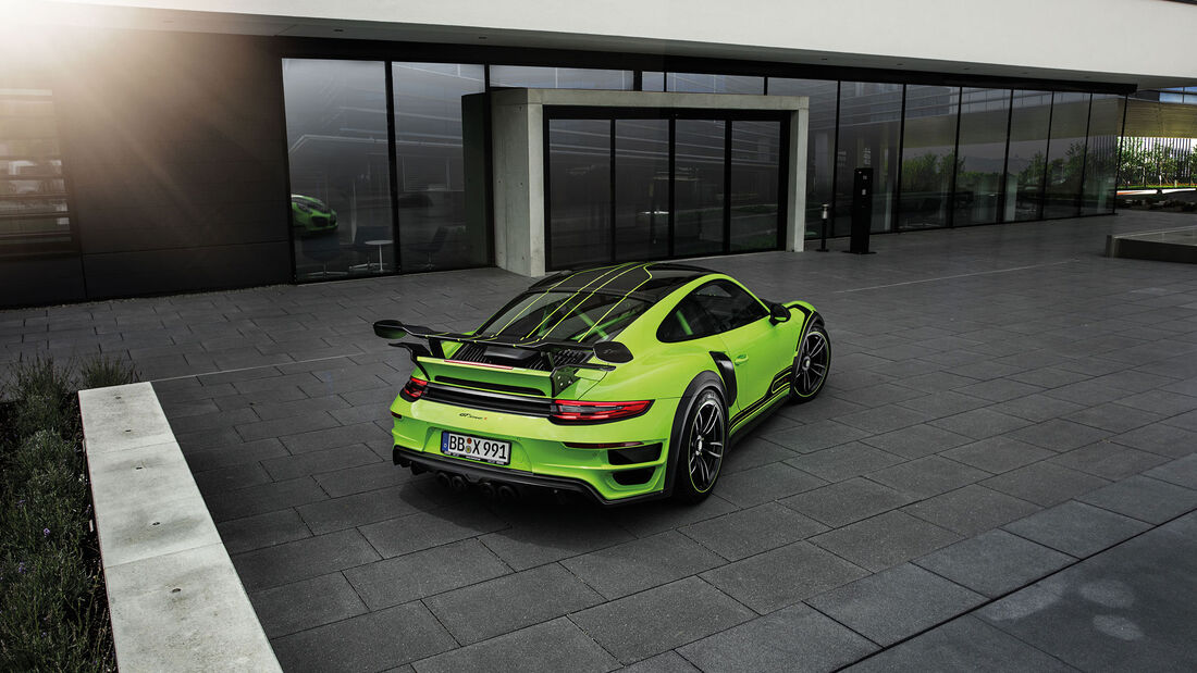 Porsche 911 Turbo von Techart