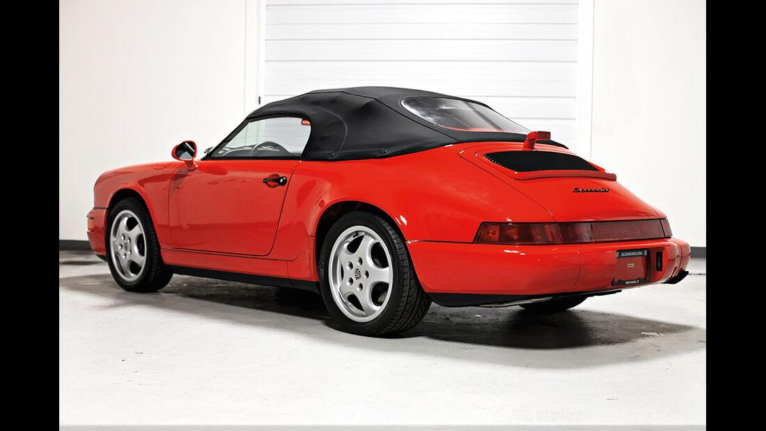 Porsche 911 Typ 964, Heckansicht