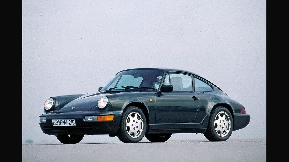Porsche 911 Typ 964, Seitenansicht