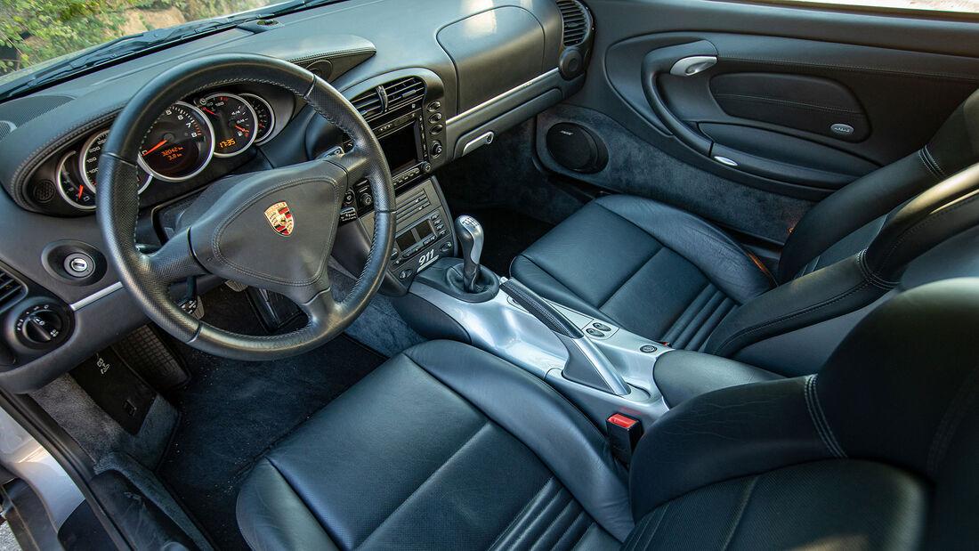 Porsche 911, Typ 996 (1997-2004), Innenraum, Cockpit