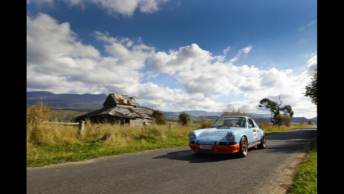 Porsche 911 bei der Targa Tasmania