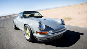 Porsche 911 by Singer Vehicle Design, Frontansicht