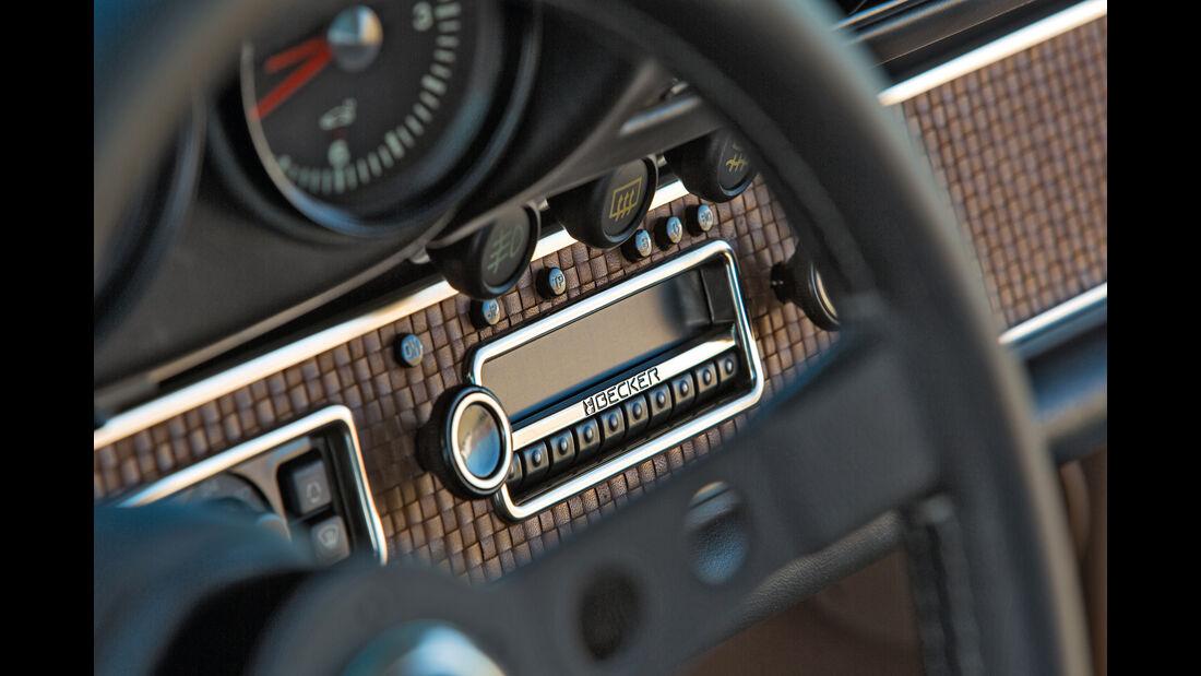 Porsche 911 by Singer Vehicle Design, Radio, Becker