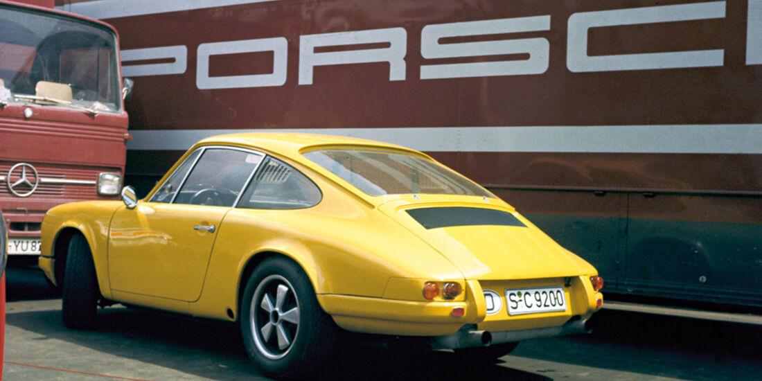 Porsche 911, fühes Modell