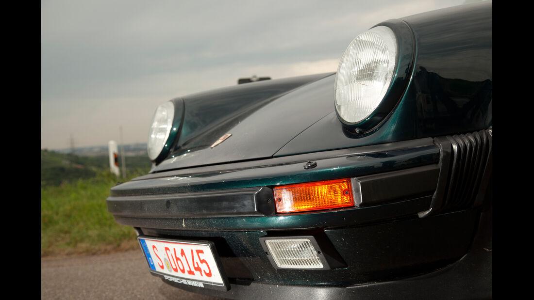Porsche 911 turbo 3.3, Frontscheinwerfer