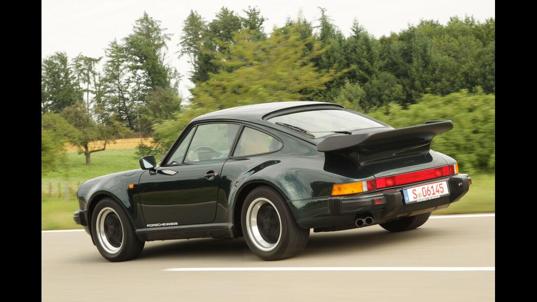 Porsche 911 turbo 3.3, Seitensnsicht