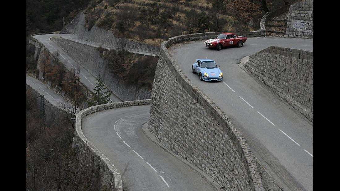 Porsche 911 und Lancia Fulvia