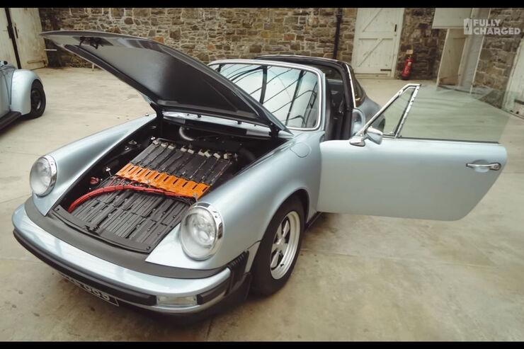 porsche 911e ein klassischer oldtimer mit elektroantrieb. Black Bedroom Furniture Sets. Home Design Ideas