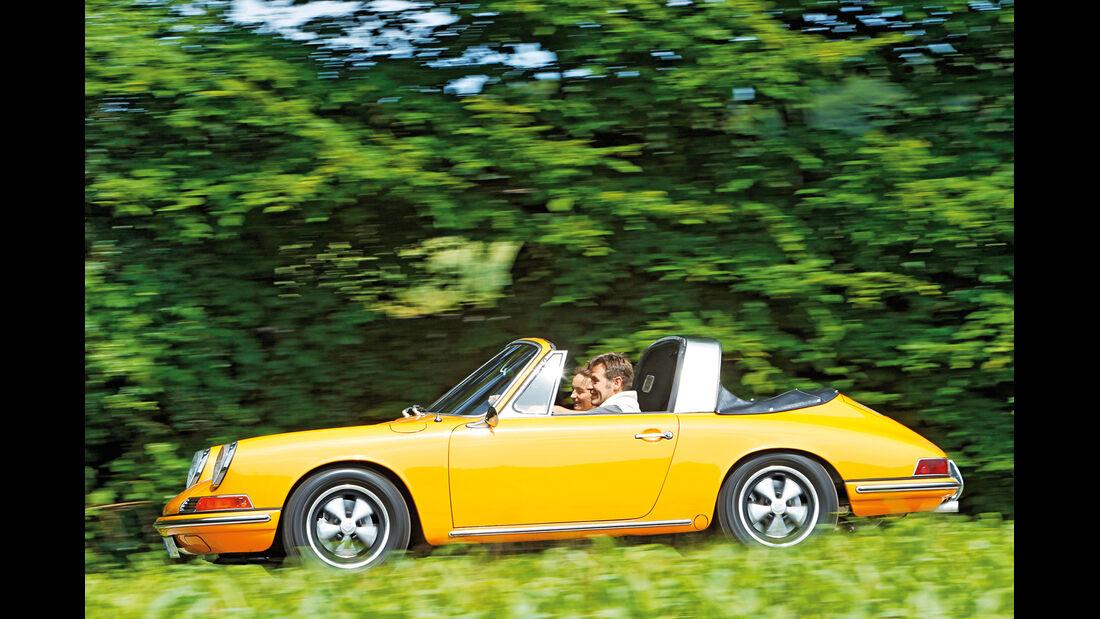 Porsche 912, Seitenansicht