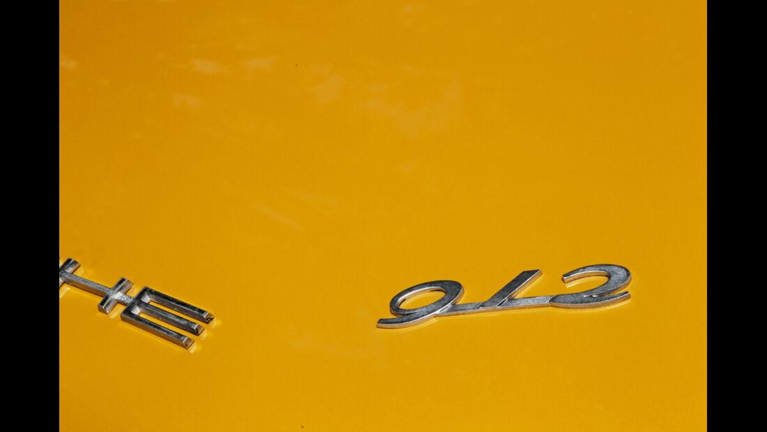 Porsche 912 Targa 912-Schriftzug