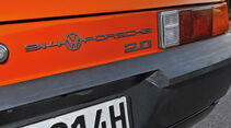 Porsche 914/4, Typenbezeichnung, Heck