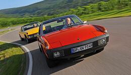 Porsche 914/4 und 914/6, Frontansicht