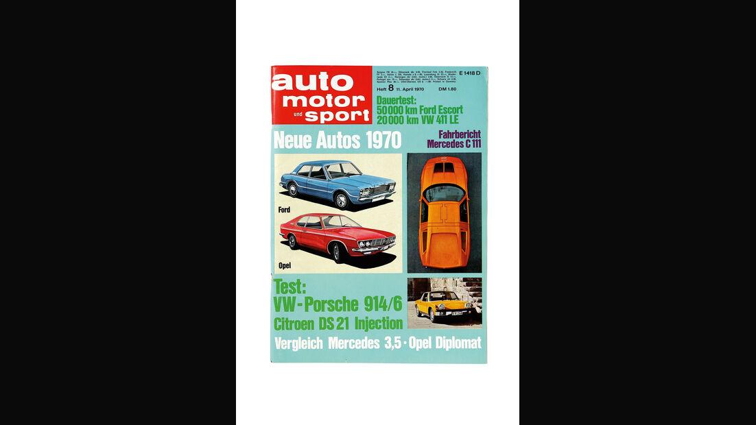 Porsche 914/6, Cover, auto motor und sport