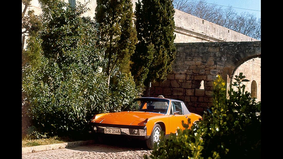 Porsche 914/6, Frontansicht