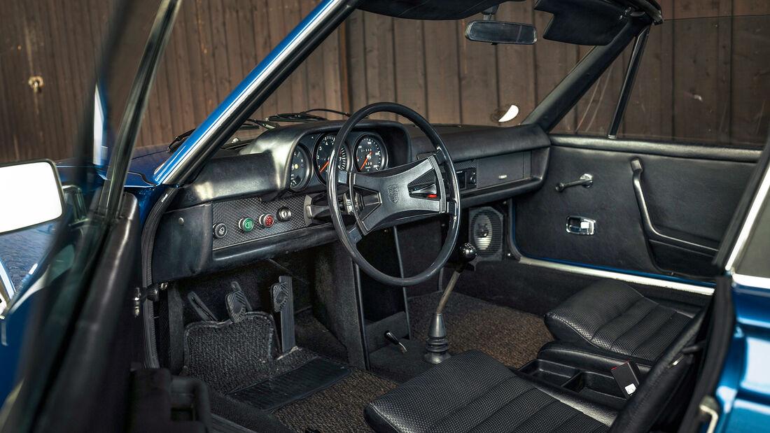 Porsche 914/6, Interieur