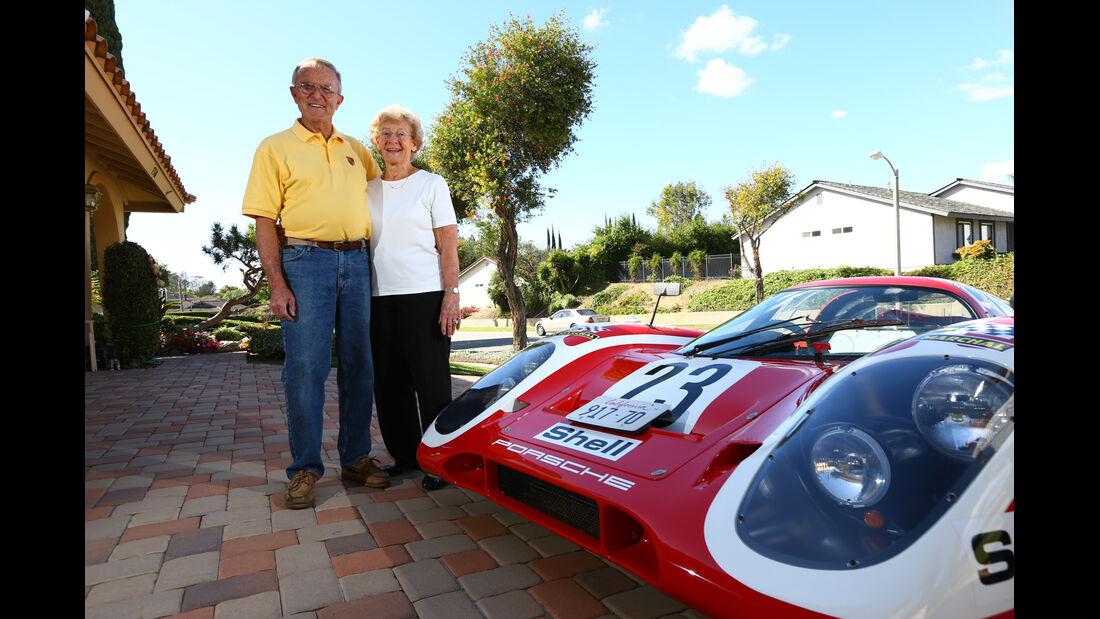 Porsche 917-Nachbau, Herb, Rose