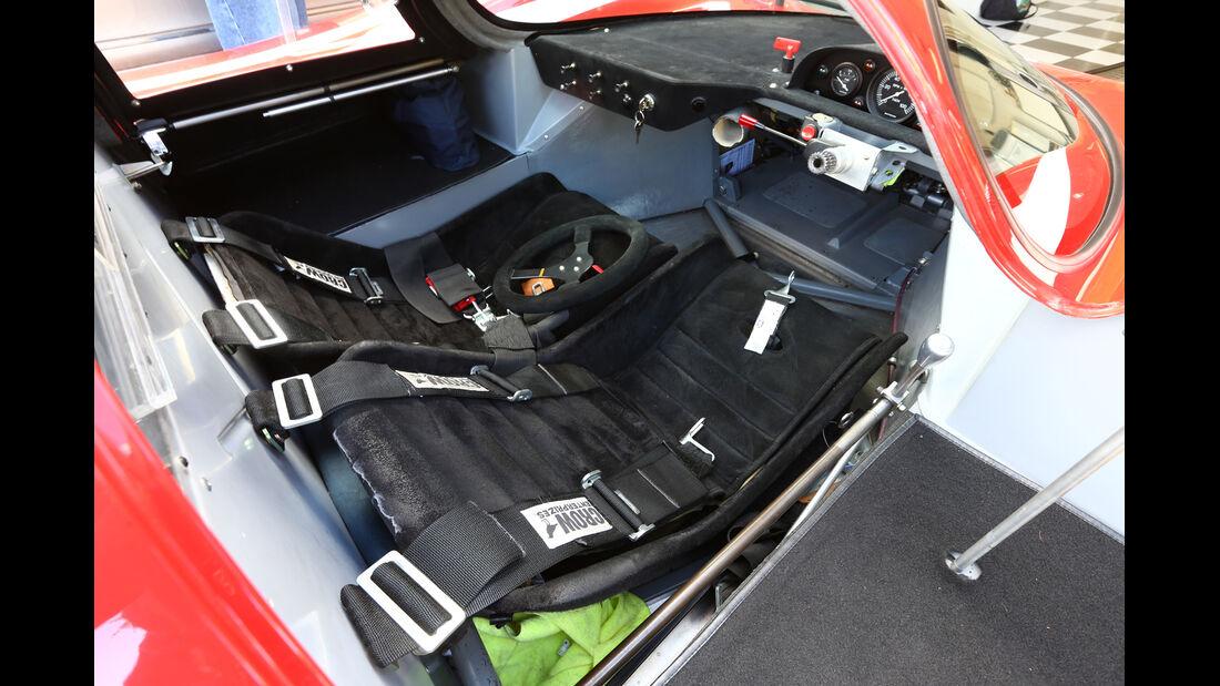 Porsche 917-Nachbau, Sitze