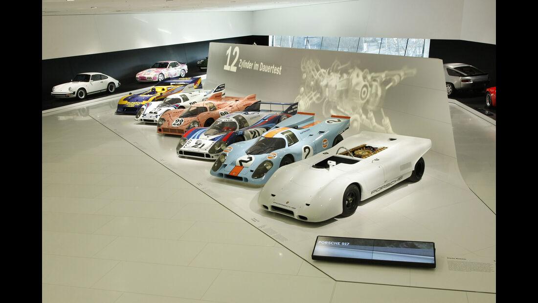 Porsche 917 - Rennwagen - Sammlung - Museum