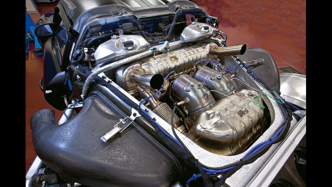 Porsche 918, Motor