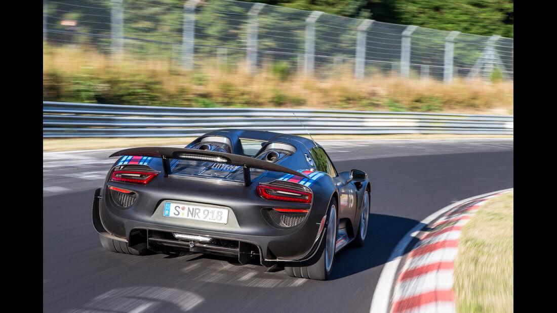 Porsche 918, Nürburgring, Rekordfahrt