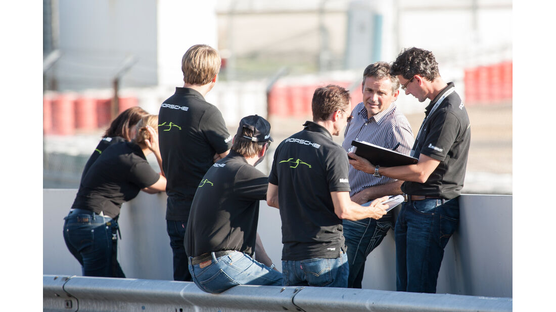 Porsche 918, Nürburgring, Team