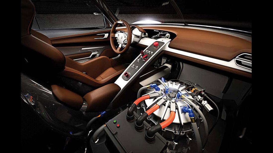 Porsche 918 RSR, Detail, Cockpit