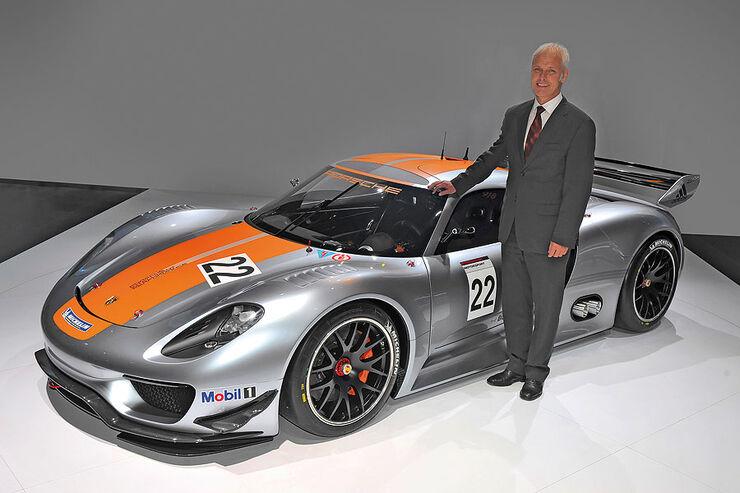 Porsche 918 RSR, Matthias Müller