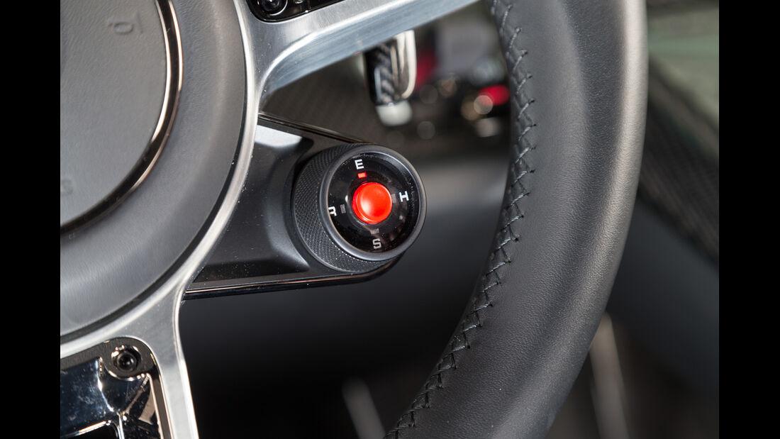 Porsche 918 Spyder, Bedienelemente