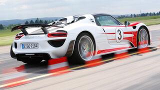 Porsche 918 Spyder, Bremstest