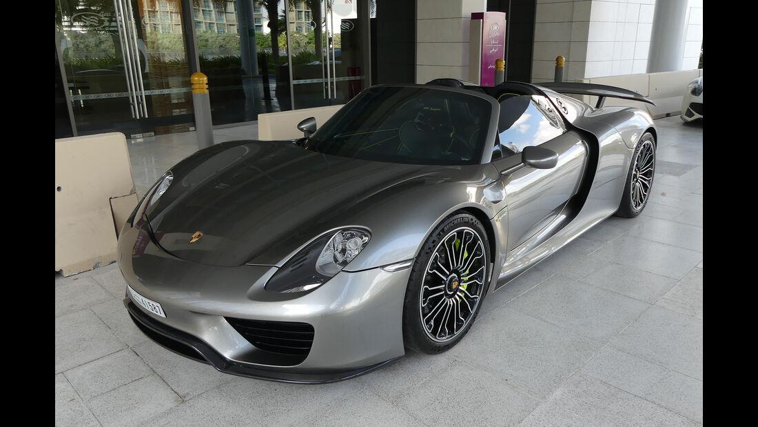 Porsche 918 Spyder - Carspotting - Abu Dhabi 2017