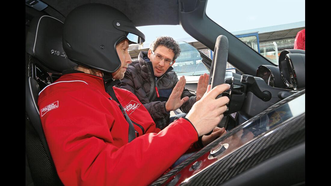 Porsche 918 Spyder, Cockpit, Marcus Peters