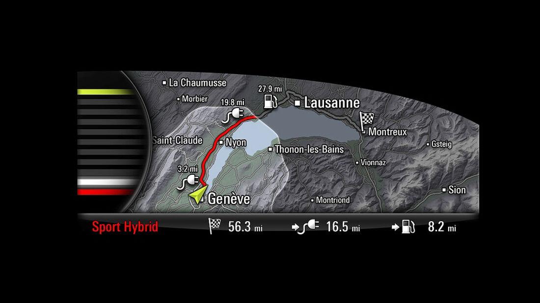 Porsche 918 Spyder Display
