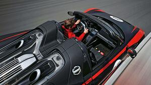 Porsche 918 Spyder, Draufsicht