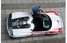 Porsche 918 Spyder, Draufsicht, von oben
