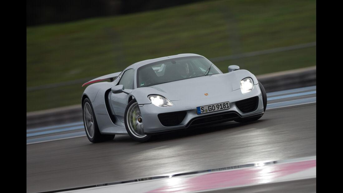 Porsche 918 Spyder, Driften