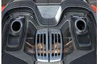 Porsche 918 Spyder, Endrohre, Top-Pipes