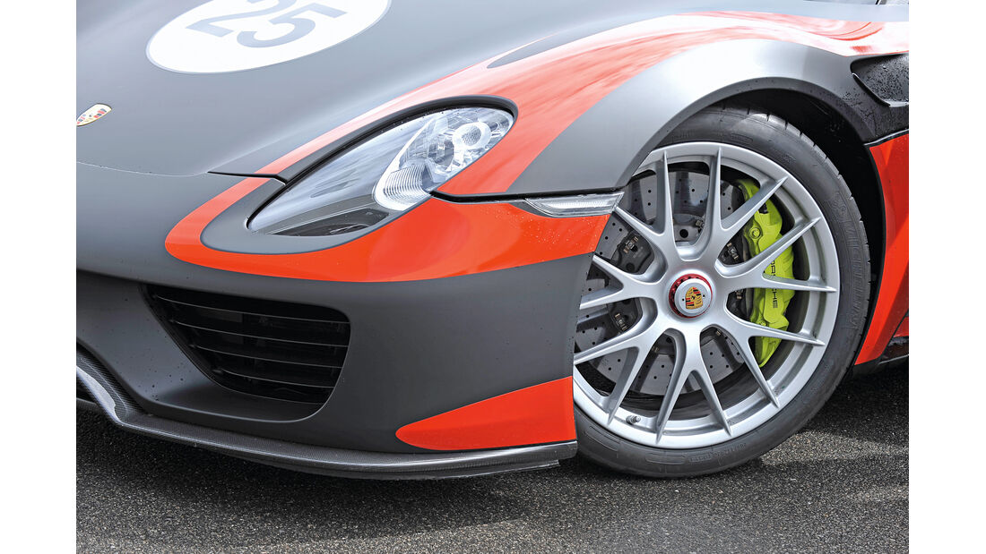 Porsche 918 Spyder, Felge