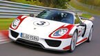 Porsche 918 Spyder, Frontansicht