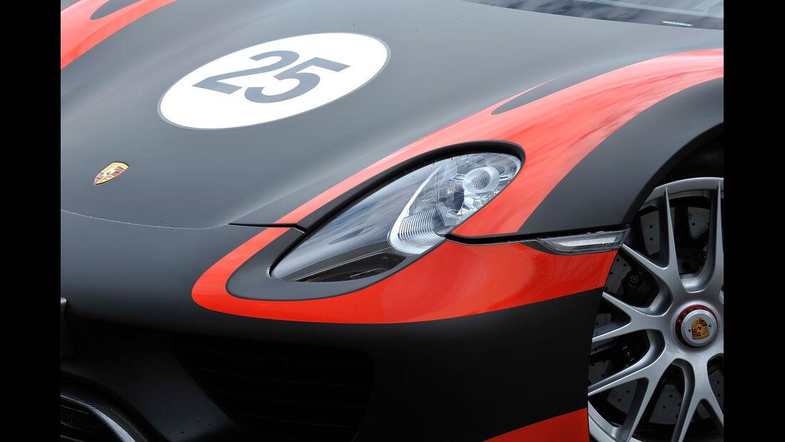 Porsche 918 Spyder, Frontscheinwerfer