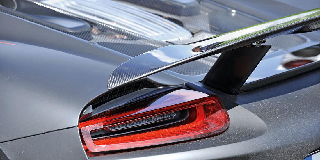 Porsche 918 Spyder, Heck