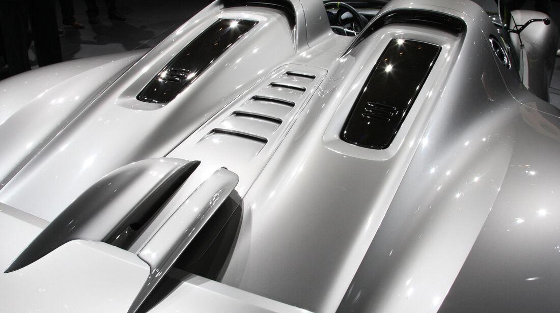 Porsche 918 Spyder, Heckpartie