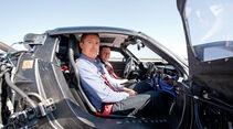 Porsche 918 Spyder, Jens Dralle, Seitentür
