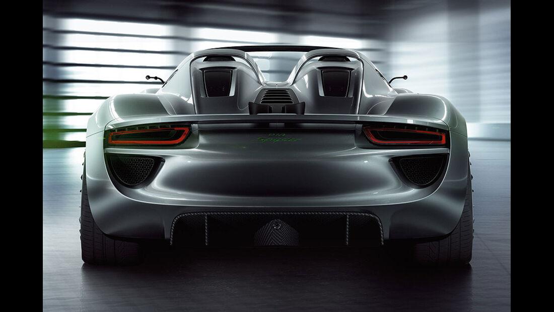 Porsche 918 Spyder Konzeptstudie