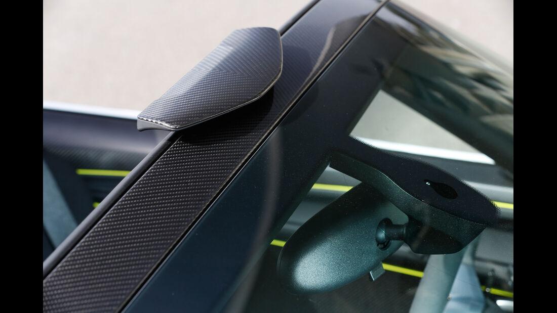 Porsche 918 Spyder, Rückspiegel, Carbon