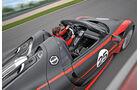 Porsche 918 Spyder, Seitenansicht, Cockpit