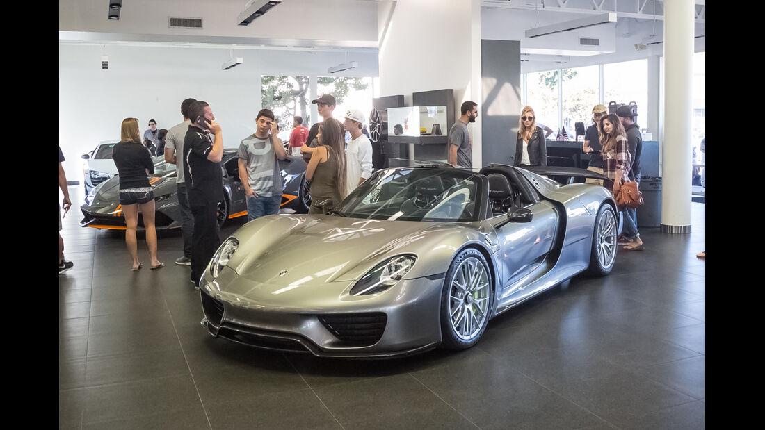 Porsche 918 Spyder - Supercar-Show - Newport Beach - Oktober 2016