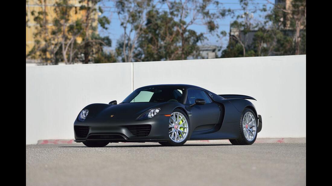 Porsche 918 Spyder - Supersportwagen - Mecum Auctions - August 2016
